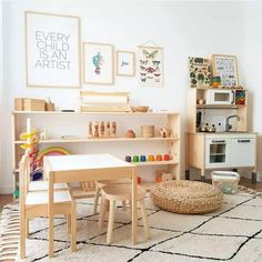 21 Fun Kids Playroom Ideas & Design Tips Not sure what to do with a spare room in your home? Transform the space into the ultimate kids playroom! From indoor swings and cool forts to ball pits and reading nooks, check out these 21 kids playroom ideas! Playroom Design, Playroom Decor, Kids Room Design, Playroom Ideas, Modern Playroom, Playroom Layout, Playroom Seating, Colorful Playroom, Wall Decor