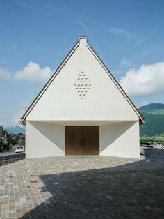 Die Totenkapelle im Kirchbezirk von Buochs - Seiler Linhart