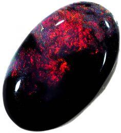 1.85 CTS BLACK OPAL STONE -WELL POLISHED [BO278] opal black