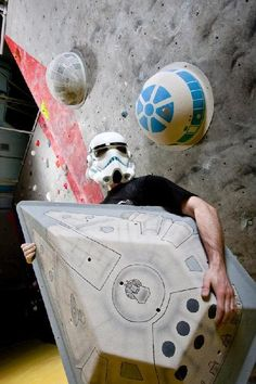 For all you #geek climbers out there - YES!