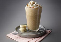 아이스 바나나 커피 밀크쉐이크