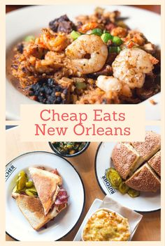 Wondering where to eat in New Orleans Louisiana without breaking the bank? Check out our 10 favorite spots for the best cheap eats New Orleans style.