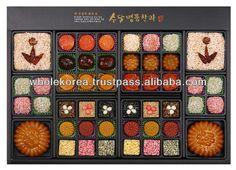 Traditional Korean Crackers / Gift Set / Rice Cake / Korean ...