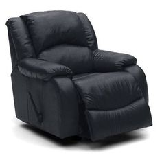 Palliser Furniture Dane Wall Hugger Recliner Upholstery: All Leather Protected - Tulsa II Jet, Leather Type: All Leather Protected, Type: Manual