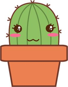 Alicia Lucnie: Happy Cacti Cute Cacti Cactus Doodle, Cactus Art, Zen Doodle, Kawaii Drawings, Cartoon Drawings, Easy Drawings, Pancake Art Challenge, Kawaii Tattoo, Desert Art