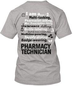 Pharmacy Technician we get money over here