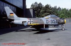 "Canadair ""Sabre 6"" D9542 TslW-3 04-06-83"