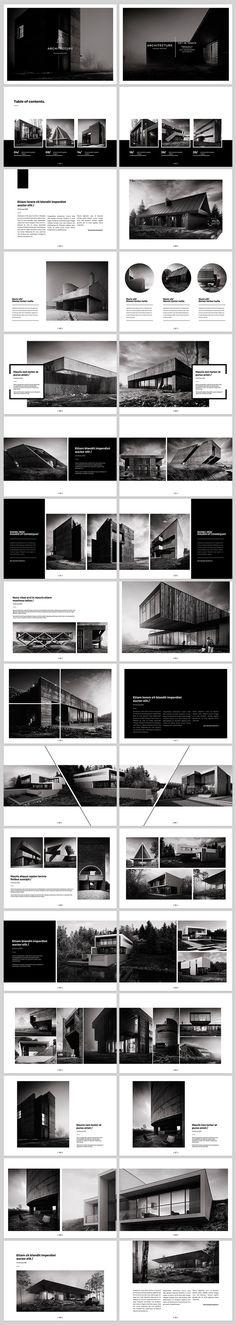 Architecture Landscape Brochure on Behance Arquitetura Paisagem Brochura on Behance Layout Design, Design De Configuration, Design Nike, Design Retro, Graphisches Design, Buch Design, Print Layout, Graphic Design, Cover Design