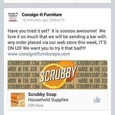 #Scrubby #madeinusa #florida #citrus #orange #lemon #paint #Art #Pennsylvania #repurpose #consign-itfurniture