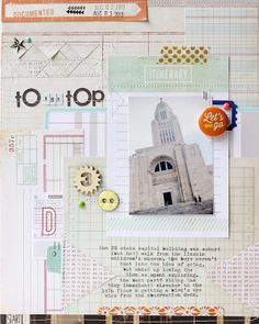 to the top by gluestickgirl at @Studio_Calico