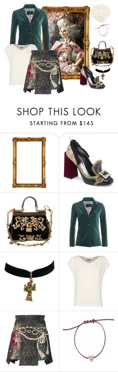"""It's never too late to shine"" by juliabachmann ❤ liked on Polyvore featuring Dolce&Gabbana, Etro, Christian Lacroix, Alberto Biani and Lido Pearls"