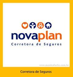 Identidade Visual para corretora de seguros em São Paulo.