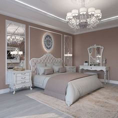 Breathtaking 84 Cozy And Easy Classic Bedroom Decor Ideas That You Can Try ASAP classic home decor Classic Bedroom Decor, Classic Home Decor, Home Decor Bedroom, Bedroom Ideas, Modern Classic Bedroom, Diy Bedroom, Classic Bed Room, Dream Bedroom, Bedroom Mirrors