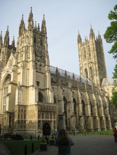 Canterbury Cathedral--would like to explore more inside the next time around