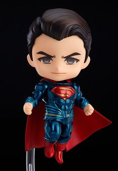 The showdown of the century in Nendoroid size! From the popular movie 'Batman v Superman: Dawn of Justice' comes a Nendoroid of Superman! The Nendoroid is a part of the fully articulated 'Edition' series of Nendoroids which allows for all sort. Batman Vs Superman, Superman Dawn Of Justice, Superman Superman, Chibi Marvel, Marvel Art, Marvel Heroes, Wallpaper Do Superman, Avengers Wallpaper, Anime Figures