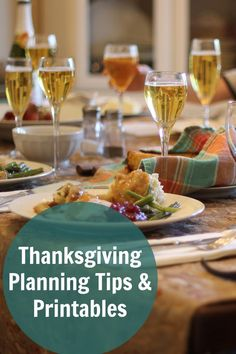 Thanksgiving Planning Tips & Printables | Life as Mom - Want to get a little more organized for Thanksgiving? Check out these Thanksgiving planning tips and printables? They'll help you craft the holiday YOU want.