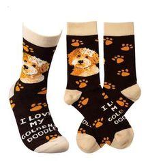 Life Is Too Short To Wear Boring Socks! Dog Socks, Novelty Socks, Life Is Short, Goldendoodle, Lol, Spandex, Shorts, Primitives, How To Wear