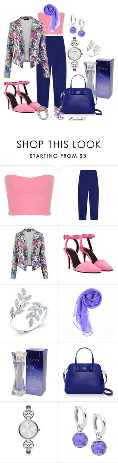 """""""En attendant ses pas... (50)"""" by mischabel ❤ liked on Polyvore featuring Miss Selfridge, Marni, Alexander Wang, Anne Sisteron, Lancôme, Kate Spade, Emporio Armani and John Hardy"""