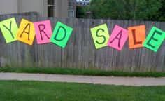Spring ahead to garage sale season Garage Sale Organization, Organizing, Garage Sale Signs, Yard Sale Signs Funny, Second Hand Fashion, Rummage Sale, Spring Ahead, For Sale Sign, Sale Banner