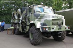 22 августа в Киеве представлена бронированная автотехника для украинской армии, произведенная киевским предприятием «Практика».