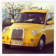 what a cute little #taxi!