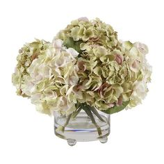 I pinned this Faux Hydrangea Arrangement II from the Cool, Calm & Collected event at Joss and Main!