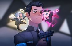 Detroit Become Human meme {and fanart} book ✔ - in this world it's yeet or be yeeted - Pagina 3 - Wattpad Detroit Being Human, Detroit Become Human Connor, Humans Meme, Quantic Dream, Becoming Human, Online Comics, I Like Dogs, Another Anime, Animation