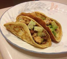Paleo Soft Tortillas - eggs, almond milk, coconut flour, sea salt
