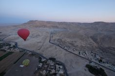 Hot Air Balloon ride over the West Bank.  Genevieve Hathaway Photography and ArchaeoAdventures:Women-Powered Travel.  http://archaeoadventures.com