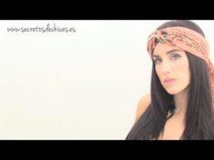 5 Opciones para colocar el pañuelo en la cabeza.   www.secretosdechicas.es