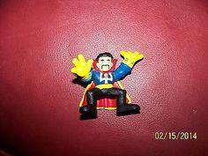 Marvel Super Hero Squad RARE Dr Strange Yellow Gloves Figure 2007 | eBay