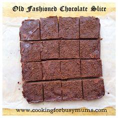 Old Fashioned Chocolate Slice