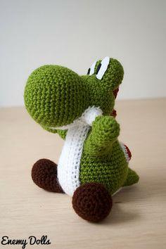 Yoshi (Mario) (link to free pattern)