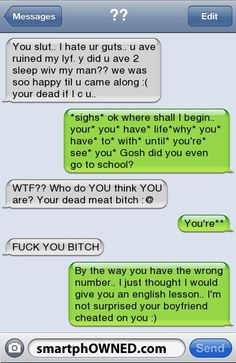 Wrong number lol