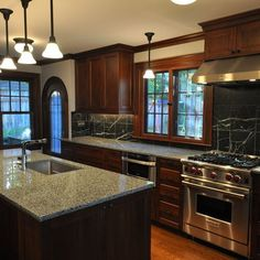 Dark Wood Trim Design, Pictures, Remodel, Decor and Ideas - page 2