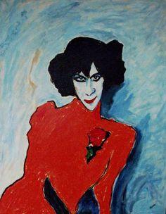 """Alexei Georgijewitsch Jawlenski,  Alexei """"von"""" Jawlensky, 1865 - 1941 russisch deutcher Maler, Expressionist und """"Mitglied"""" des Blauen Reiters. Alexander Sacharoff"""