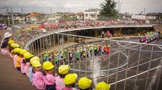TED Talk about circular building for a Japanese kindergarten and the learning styles promoted there.