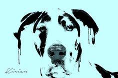 A personal favorite from my Etsy shop https://www.etsy.com/listing/244564806/custom-great-dane-dog-pop-art-portrait