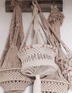 Macrame Hanging Baskets by Ocean Nomad Australia www.ocesnnomadaustralia.com.au
