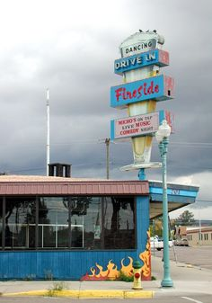 The Fireside, now home to the Library Sports Bar and Grille. Downtown Laramie, WY