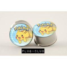 Pikachu Plugs by Plug-Club