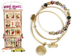 HB Holiday 2 - Alex and Ani at Henri Bendel NY 2010. WHY doesn't A&A make beaded like this anymore!!!!