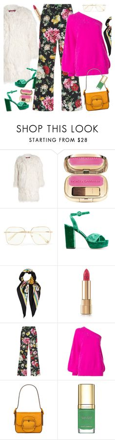 """""""Hey, Besties: Girls' Night"""" by sproetje ❤ liked on Polyvore featuring Zadig & Voltaire, Dolce&Gabbana, Chloé, Emilio Pucci, Tory Burch, girlsnight, fauxfur and WearIt"""