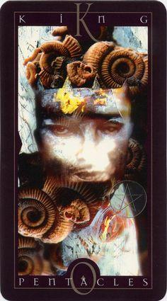 Vertigo Tarot: King of Pentacles
