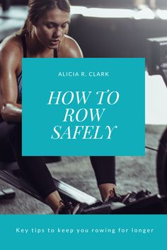 Alicia R. Clark | When you want to improve your fitness, you don't want to hurt yourself in the process. There are a couple of key things to look for in your rowing stroke if you're wanting to stay as safe as possible. #workouttips #rowingtips #workoutsforwomen You Fitness, Fitness Tips, Indoor Rowing, Elbow Pain, Steady State, Low Impact Workout, Core Muscles, Sit Up, I Win