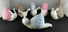 2 types of Snail Rattles Crochet Pattern by yarnabees http://sulia.com/my_thoughts/010dad73b5bd35b823650a5177c511ef/?source=pin&action=share&ux=mono&btn=small&form_factor=desktop&sharer_id=127220923&is_sharer_author=false&pinner=127220923