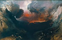 'The Great Day of His Wrath' John Martin