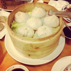 Soup dumplings at Nan Xiang Dumpling House