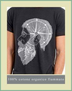 T-SHIRT UOMO HIPSTER BUSSOLA BARBA VINTAGE SLUB FIAMMATO COTONE ORGANICO | Abbigliamento e accessori, Uomo: abbigliamento, T-shirt | eBay!