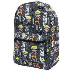 c764ec7b7d36 Naruto Shippuden Sublimated Backpack Anime